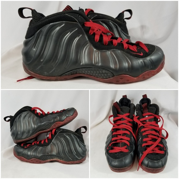 Nike Air Foamposite One Men Cracked Lava Hall of Sneakz